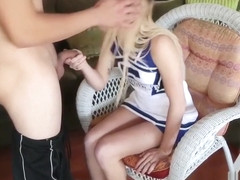Petite Teen Carmen Callaway Is Flexible