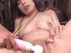 Awesome Asian woman with shaved pussy Ririsu Ayaka facialized