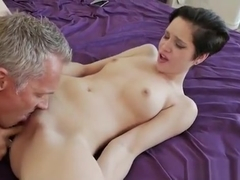Babysitter Cadey Mercury Gets Pussy Screwed In The Bedroom