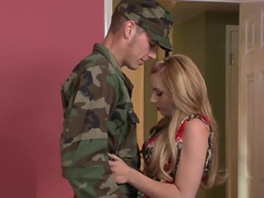 Lexi Belle rides Chris Johnson till exhaustion