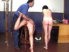 CMNF 2 girls spanked stripped and humiliated