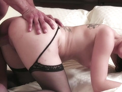 Richie Calhoun & Jade Nile & Toni Ribas in Jade Nile - How To Train A Hotwife - KINK