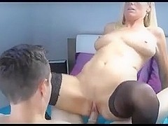 Milf older 43 takes 18 year old virginity