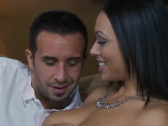 Busty beauty Bethany Benz seduces horny Keiran Lee