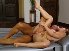 Hot Blond Masseuse Zoey Monroe Anal Fucked By Client