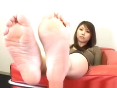 japonaise sexy feet & toes