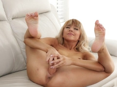 Hime Marie in Suction Cup Dildo - NUBILES