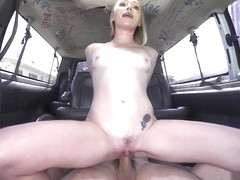 jmac & Athena May in A Porn Star Is Born - BangBus