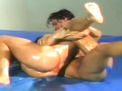 Canadian Nude Oil Wrestling 05 (Match 1) - Jimmy Dean VS. Dillon Reed