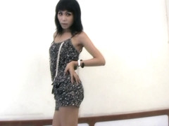 Leaked FULL movie of Thai doll with balls jerking