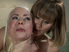 Hottest lesbian, fetish sex movie with exotic pornstars Maitresse Madeline Marlowe and Lorelei Lee from Whippedass