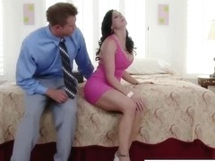 Kendra becomes horny after hot and oily butt and pussy rub
