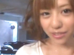 Amazing Japanese whore Rina Rukawa in Crazy Facial, Close-up JAV scene