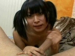 Yuki Mori - White Guy Bukkake